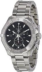 TAG Heuer Men's CAY1110.BA0925 Analog Display Quartz Silver Watch