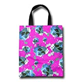 Bonsai Tree Icon Galaxy Durable Tote Bag Reusable Grocery Bag Shopping Bags With Straps