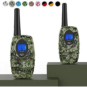Amazon.com: FLOUREON Walkie Talkies Two Way Radios 2 Packs
