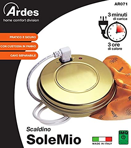 Ardes Ard.71 Sole Mio - Calentador pequeño, eléctrico de bajo consumo: Amazon.es: Electrónica