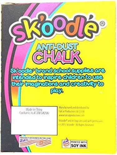 Skoodle Sk10113 Board Chalk (Pack Of 7)