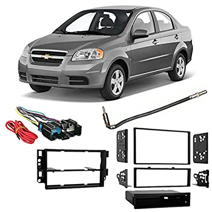 Amazon Fits Chevy Aveo 2009 2011 Singledouble Din Harness