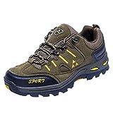 Sport Shoe, Shybuy Men & Women Casual Outdoor Walking Shoes Fashion Lace-up Hiking Running Mountaineering Shoes (7.5, Army Green)