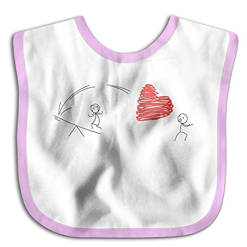 Price comparison product image Heart Arrow Archery Love HeartWaterproof Bibs The Baby Bibsfunny Teething Bibs