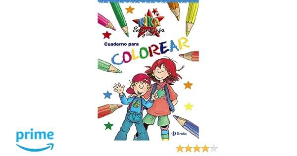 Cuaderno para colorear Castellano - A Partir De 6 Años ...
