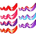 Yamalans Colorful 3 Layers Ribbon Garland Wedding Festival Party Ceiling Hanging Decors