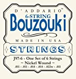D\'Addario J97-6 6-String Nickel Wound Greek Bouzouki Strings