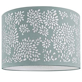 Indispensable floral laser cut lamp shade duck egg blue neoteric indispensable floral laser cut lamp shade duck egg blue neoteric design b77 mozeypictures Choice Image