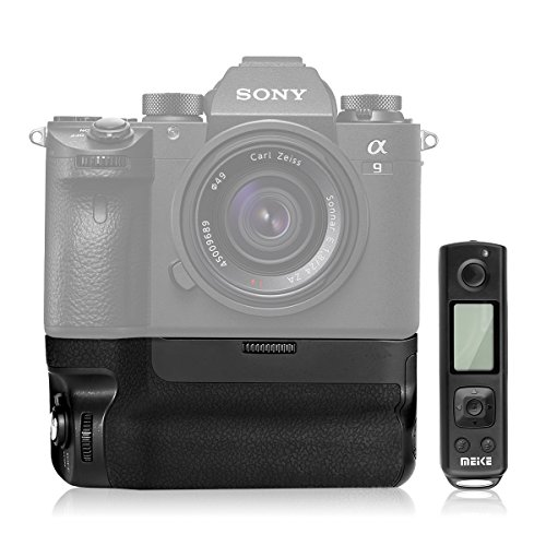Meike New MK A9 Pro / A7III Battery Grip as VGC3EM Built-in 2.4GHz Remote Controller Vertical Shooting Function for Sony A9 A7R III A7III Digital Camera