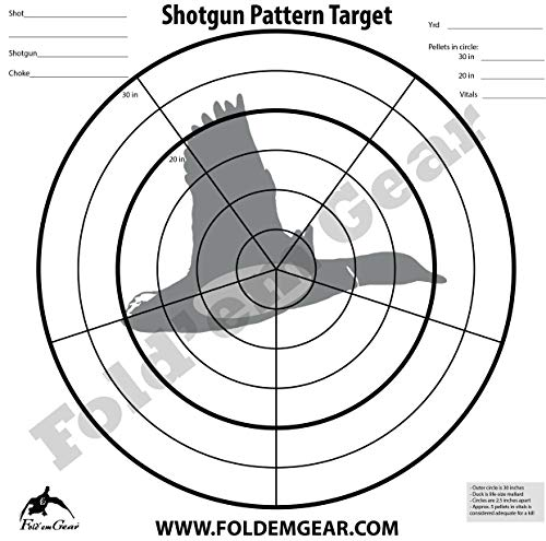 (Fold'em Gear Shotgun Target)