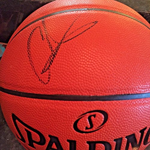 Carmelo Anthony Autographed Basketball - Replica Official - JSA Certified - Autographed Basketballs (Carmelo Anthony Autographed Basketball)