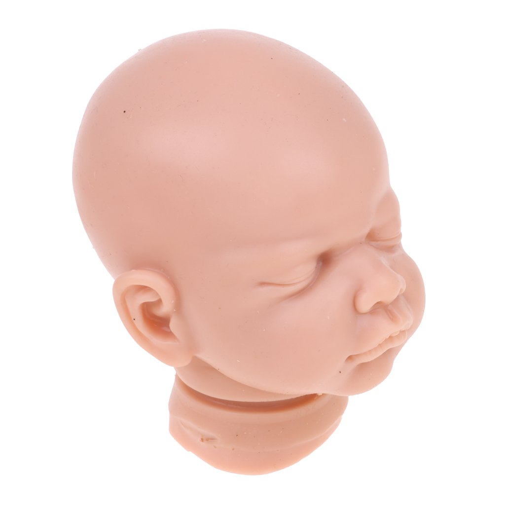 MagiDeal Unpainted 22inch Reborn Kits Soft Solid Silicone Head & 3/4 Arms &Legs Blank Mold Baby Doll DIY Handmade Kit by Unknown (Image #6)