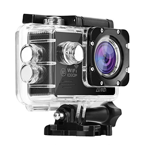 Nexgadget Action Camera, EXPLORER Series WiFi Sports Camera FHD 1080P