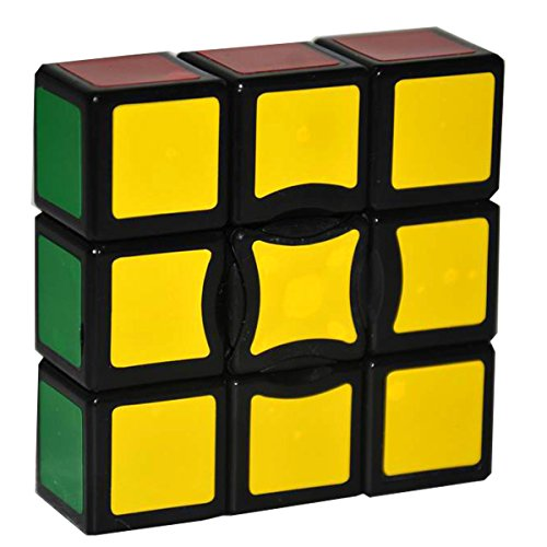 Magic 6 Colors Sticker Speed Cube,Black (Simply Sudoku)