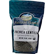 Shiloh Farms: French Lentils 15 Oz (6 Pack)