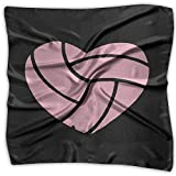 Love Volleyball Men Women Silky Scarf Headband Bandana Scarves Set