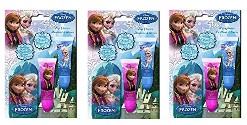 Disney Frozen Lip Tube 2 pk with mini Tin x 3 set