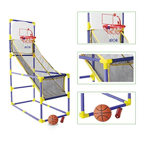Indoor Arcade Basketball Shooting Game Kids Teens Easy to Assemble