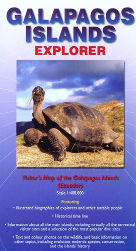 Galapagos Islands : Explorer (Ocean Explorer Maps)