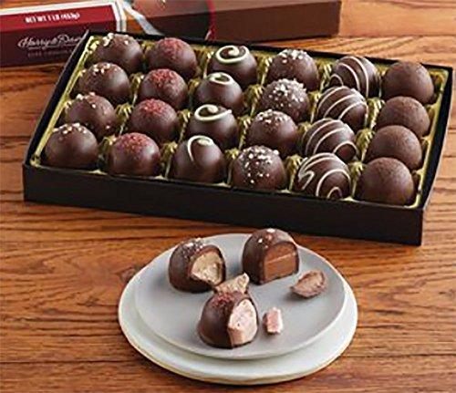 (Harry and David Handcrafted Dark Chocolate Truffles)
