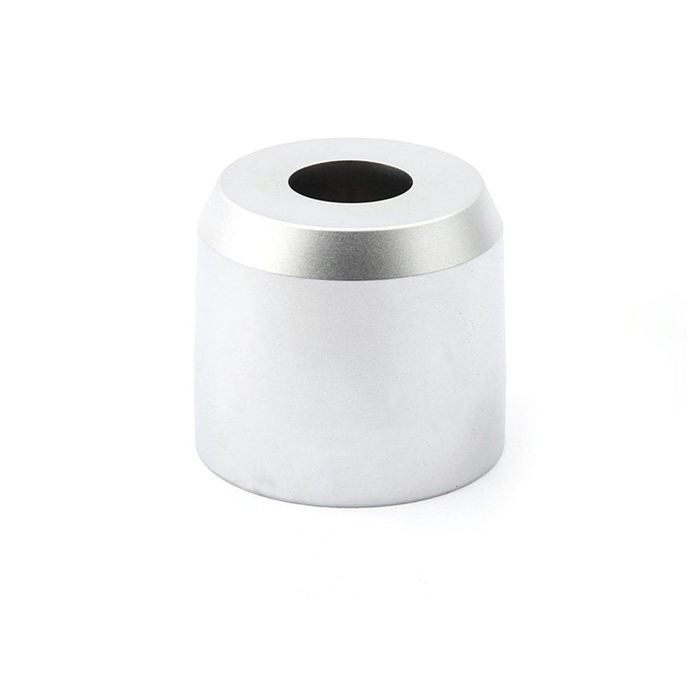 ROSENICE Afeitado Razor Stand Base Accesorio de base de afeitar de afeitado de afeitado del hombre (plata)