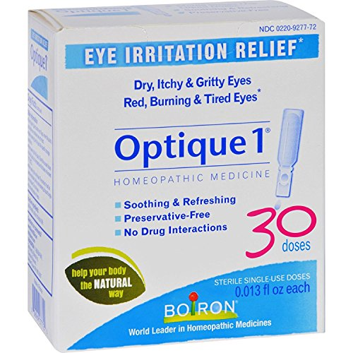 Boiron Optique 1 Eye Drops - 30 (Eye Irritation Relief)