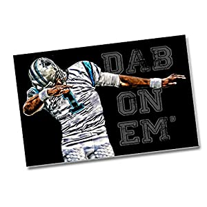Panthers Cam Newton Dab On Em - Two 11x17 Posters