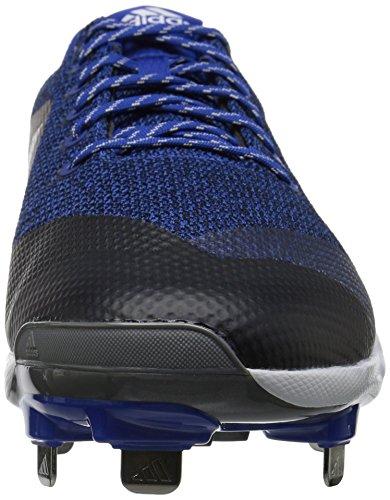 adidas Originals Men's Freak X Carbon Mid Baseball Shoe Collegiate Royal, Silver Met., Ftwr White