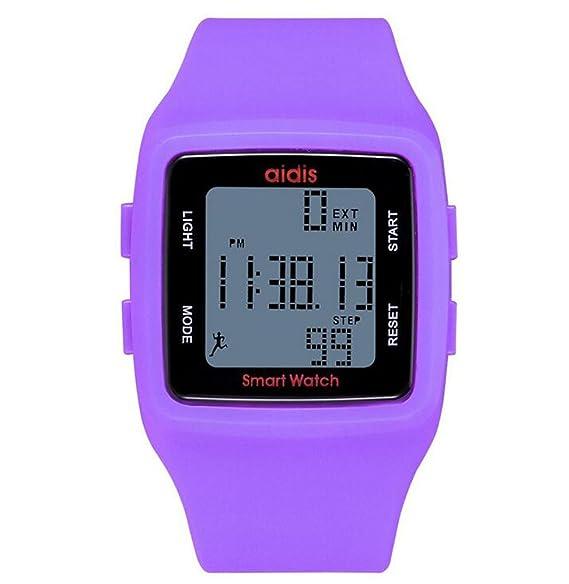 MODIWEN - Reloj Digital Deportivo Unisex, Resistente al Agua, Multifuncional, Resina: Amazon.es: Relojes