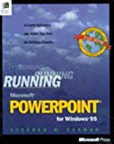 img - for Running Powerpoint 95 by Stephen Sagman (1995-10-01) book / textbook / text book