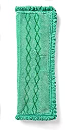 Rubbermaid Commercial Products 1791793 HYGEN Microfiber Clean Water System Double-Sided Microfiber Mop Pad (Pack of 6)