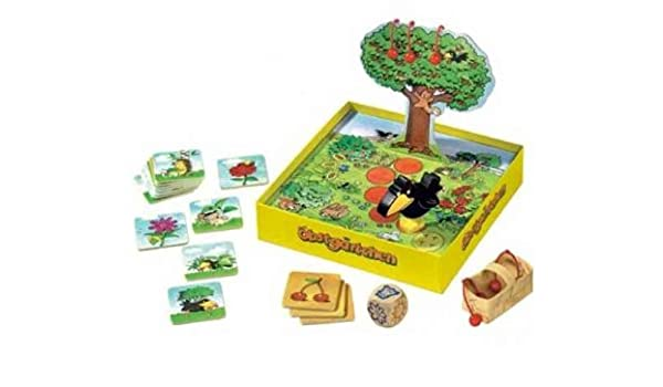 HABA Little Orchard - A Cooperative Memory Game for Ages 3 and Up (Made in Germany) by HABA: Amazon.es: Juguetes y juegos