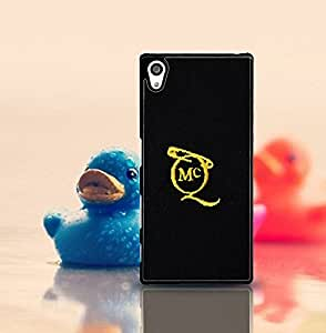 Cute Funda Case for Sony Xperia Z5 (Suit fit for Z5) Brand Logo Alexander Mcqueen Logo Snap On Hardshell Slim High Impact Drop-Proof Creative