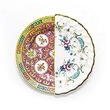 Seletti Hybrid - Dessert plate Eudossia Multicolor