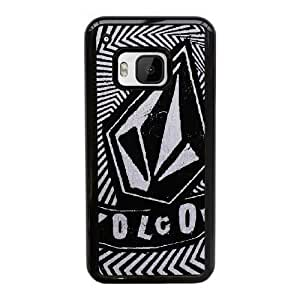 HTC One M9 Cell Phone Case Black Volcom AS7YD3598136