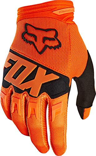 Gloves Motorcycle Dirtpaw (Fox Racing Dirtpaw Race Men's Off-Road Motorcycle Gloves - Orange/Small)