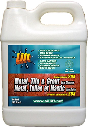 Oil Lift 948ml Industrial Strength Non-toxic Metal, Tile & Grout Cleaner ()