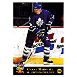 (CI) Grant Marshall Hockey Card 1994 Classic Pro Prospects (base) 188 Grant.