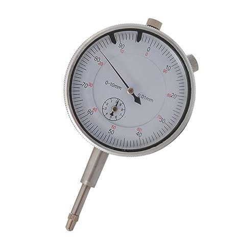 0.01 mm magnético para medidores Medidor Reloj Soporte Magnético trípode con comparador Reloj de medición 0 - 10 mm: Amazon.es: Bricolaje y herramientas