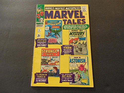 Marvel Tales #4 Sep 1966 Silver Age Marvel Comics Spider-Man; Thor