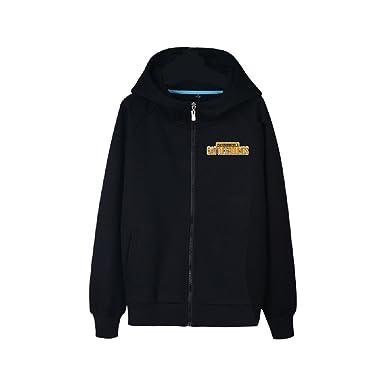 Men Pubg Hoodie Zip Jacket Coat Long Sleeve Sweatshirt Game