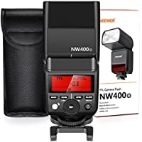 Neewer 2.4G Wireless TTL Flash HSS 1/8000s GN36 Master Slave Speedlite for Olympus E-M10II M5II M1 E-PL8 PL7 PL6 PL5 P5 P3 PEN-F,Panasonic DMC-GX85 G7 GF1 LX100 G85 Cameras with Hard Diffuser(NW400o)