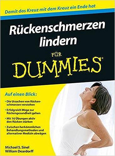 Ruckenschmerzen Lindern Fur Dummies: 9783527709380: Amazon ...