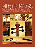 All for Strings : Bk. 3: Cello, Anderson, Gerald and Frost, Robert S., 0849733065