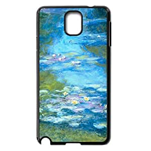 Chinese Lotus pond Art Personalized Phone Case for Samsung Galaxy Note 3 N9000,custom Chinese Lotus pond Art Case