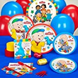 Caillou Party Supplies - Standard Party Pack for 16
