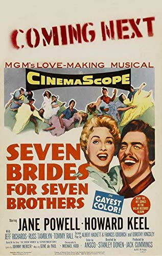 Seven Brides For Seven Brothers 2  Posters Musicals Classic /& Vintage Films