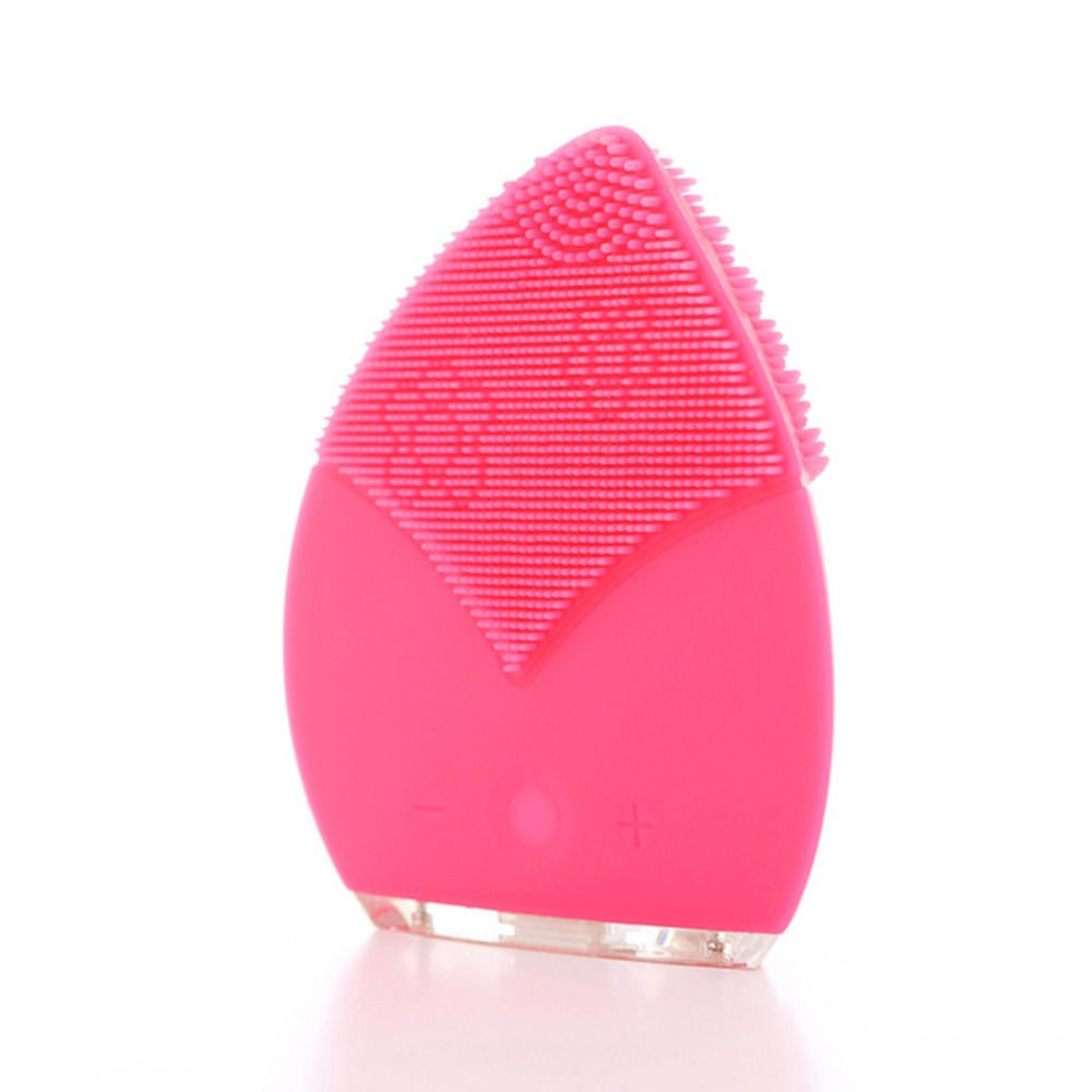 UNAKIM-- Silicone Electric Cleansing Brush Facial Brushes Spa Washing Machine Massager