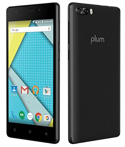 Plum Compass 4G LTE GSM Unlocked Smart Cell Phone 5'' Display Android 7.0 Quad Core 8+5 MP Camera by Plum (Image #2)