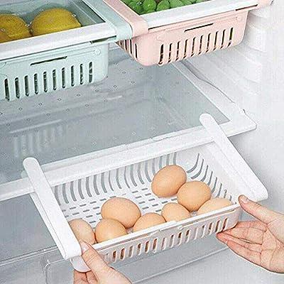 EPRHAY - Caja de almacenamiento retráctil para frigorífico, de ...
